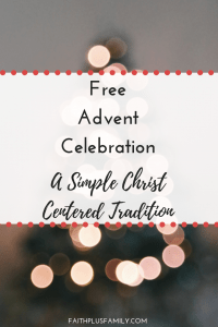 A Free Advent Celebration