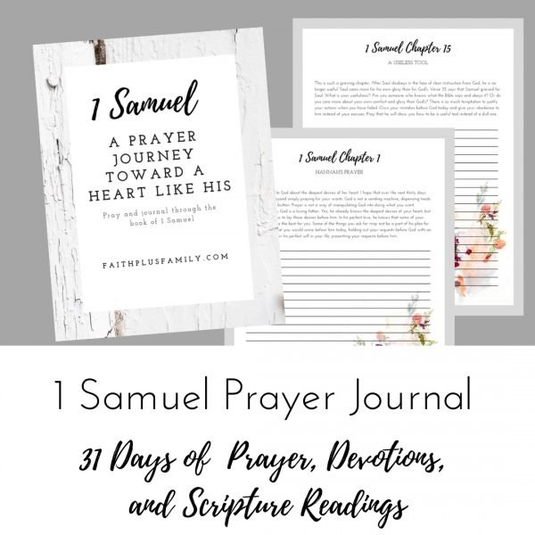1 Samuel Prayer Guide