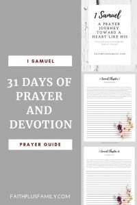 31 Days of prayer and devotion