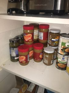 Organized Peanut Butter