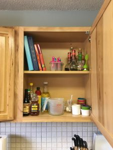 KonMari Kitchen Cabinet