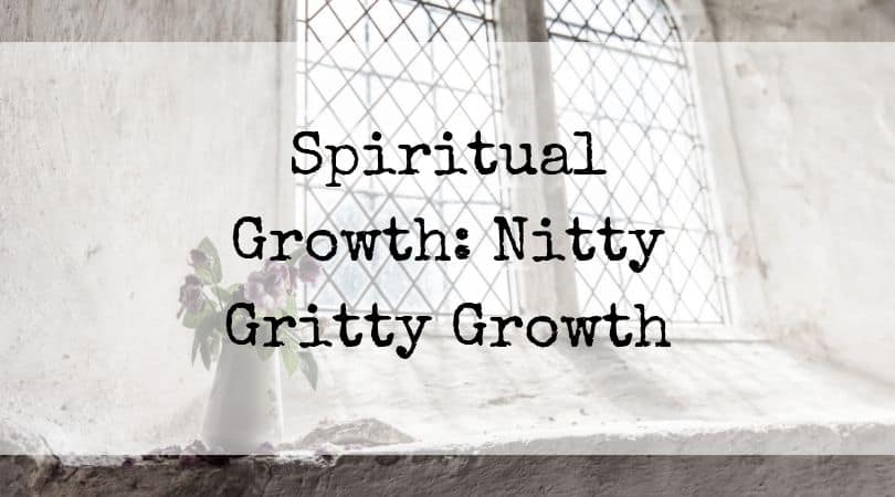Spiritual Growth: Nitty Gritty Growth