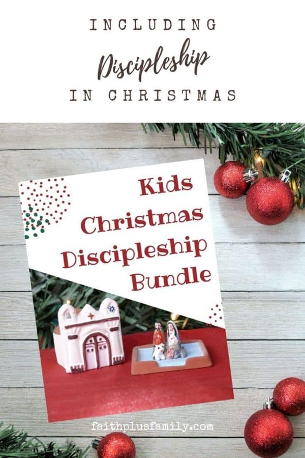 Kid's Christmas Discipleship Bundle