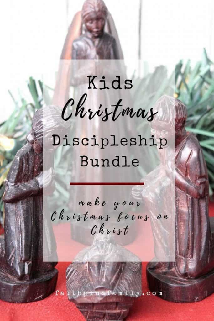 Kids Christmas Discipleship Bundle